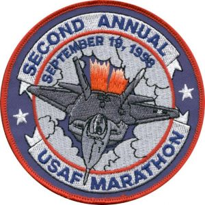 USAF Marathon Patch 1998