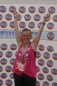 Trina at the 2015 Air Force Marathon