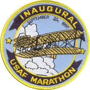 USAF Marathon Patch 1997