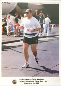 Rick Perron at the 3rd Air Force Marathon