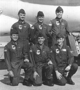 Lt Col Heberling's B-52 Crew