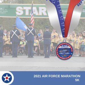 2021 5k medal