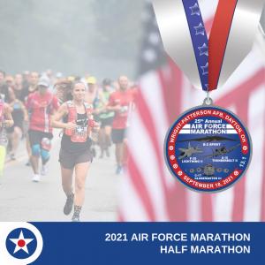 2021 half marathon medal