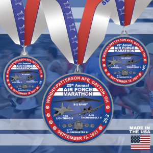 2021 Finisher Medals