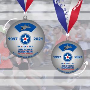 2021 virtual challenge medal